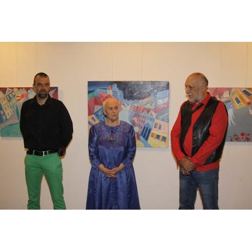 """""""Когато градът не заспива"""" и проф. Бисер Дамянов в галерия Възраждане"""