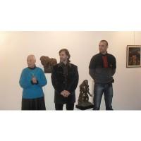 Богомил Живков показва скулптури в салона на галерия Възраждане от 08.05.2018 г.