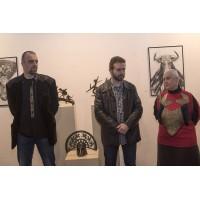 """""""Скулптурата като артефакт"""" - скулптури и рисунки на Димитър Чонов"""