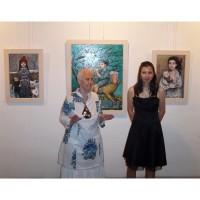 """""""Отнесени от вихъра"""" изложба живопис на Елисавета Ангелова. От 23.01. до 12.02.2018 г."""