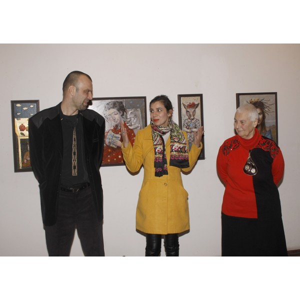 """""""Златна стълба към небето"""" в галерия Възраждане!"""
