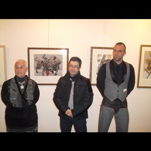 Eдин от най-известните и награждавани български графици по света Юлиан Йорданов в галерия Възраждане