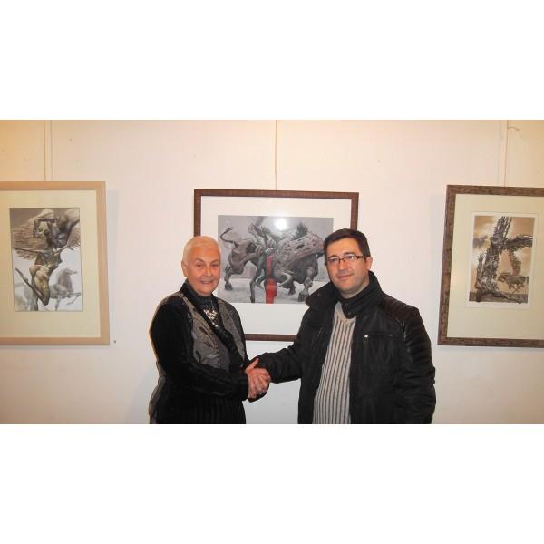 """Майсторство, естетика и философия в изложбата """"Зодиaкът и още нещо""""  на Юлиан Йорданов!"""