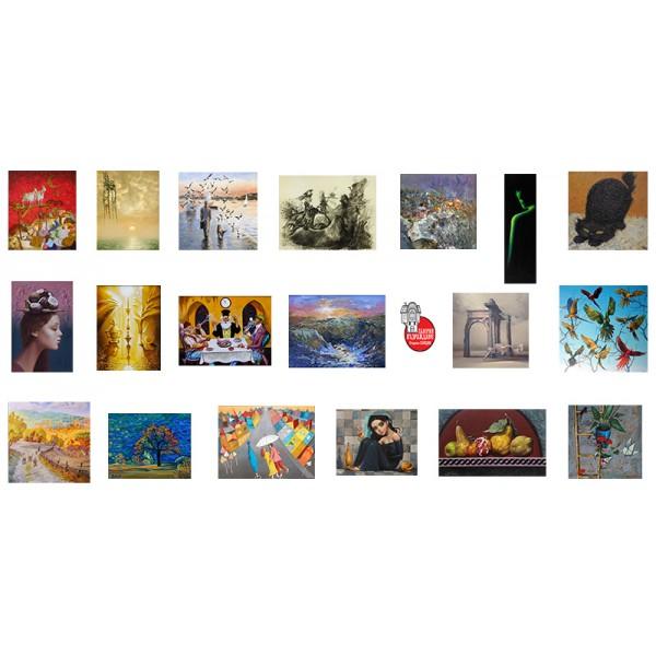 Голяма лятна изложба в салона на галерия Възраждане!