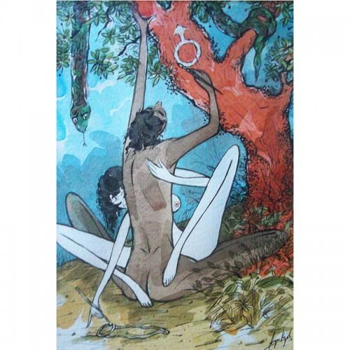 Адам и Ева - автори на първия синонимен речник