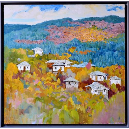 Есен в село Долен