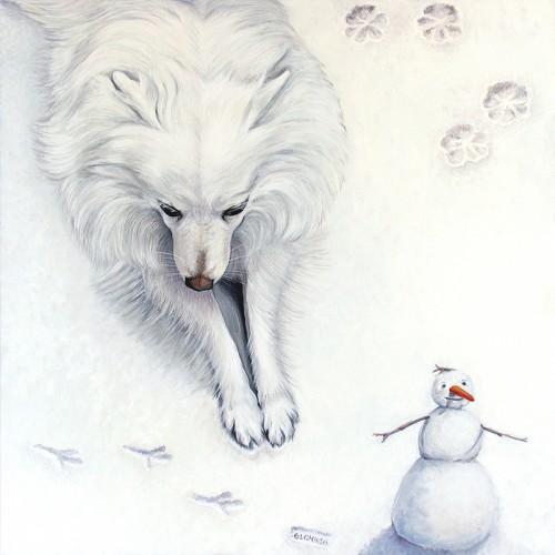 Януари - нюанси на бяло и сиво