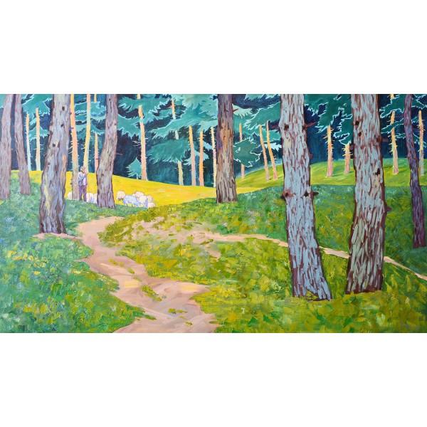 Овчар в гората
