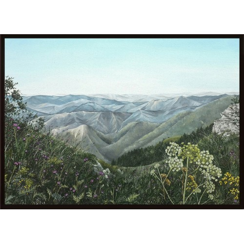 Песента на планината