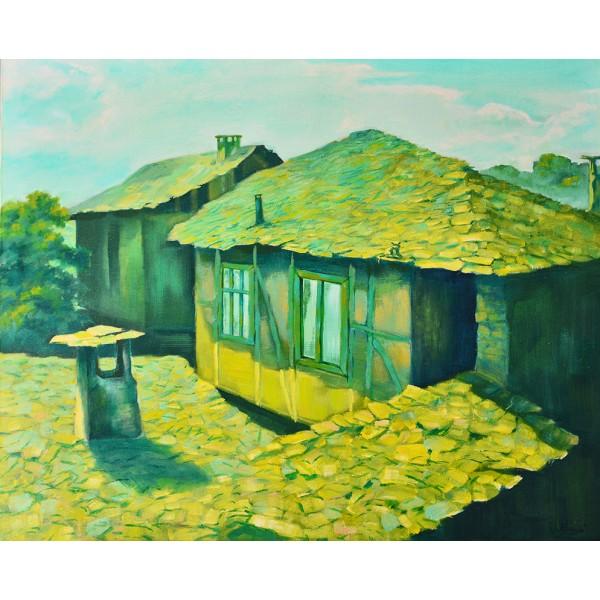 Покриви в село Лещен
